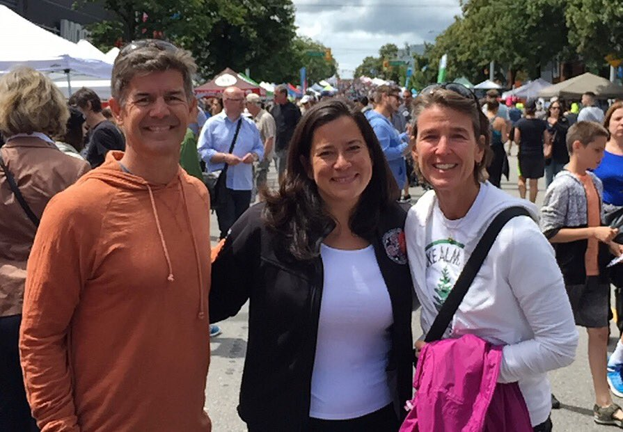Supporters meet Canada's Justice Minister!